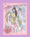 Disney Every Girl Is A Princess - 36 Inch Wide Panel from Springs Creative