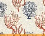 Hidden Cove - Coral Cream by Sue Schlabach from Windham Fabrics
