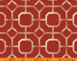 Hidden Cove - Tile Red by Sue Schlabach from Windham Fabrics
