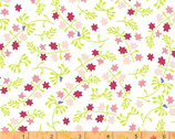 Enchanted - Pink Scattered Flowers from Windham Fabrics