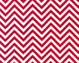 Remix FLANNEL - Cherry Red Chevron by Ann Kelle from Robert Kaufman