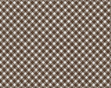 Brown Bias Gingham from Timeless Treasures