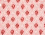 Mary Rose Julia Flower Square Diamond Pink from Quilt Gate