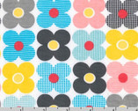 Remix KNIT - Flower Summer by Ann Kelle - 58 Inch Wide from Robert Kaufman