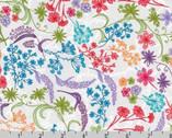 In The Bloom - Garden Flowers by Valori Wells from Robert Kaufman