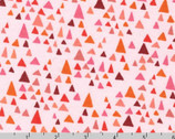 In The Bloom KNIT 58 inches - Blossom Pink Triangle by Valori Wells from Robert Kaufman