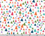 In The Bloom KNIT 58 inches - Garden Triangles by Valori Wells from Robert Kaufman