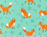 Forest Fellows - Fox Nature by Sea Urchin Studio from Robert Kaufman