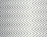 Simply Style - Zig Zag Chevron Ombre Grey by V and Co from Moda