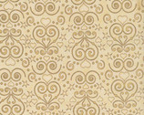 Healing Hearts - Cream Damask by Dan Morris from RJR