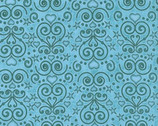 Healing Hearts - Aqua Damask by Dan Morris from RJR