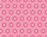 Mixology - Geranium Honeycomb from Camelot Cottons