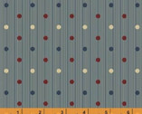 Threads of Time - Dots Gray by Julie Hendrickson from Windham