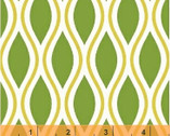 Kinetic - Green Tear Drop by Another Point of View from Windham Fabrics