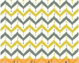 Kinetic - Zig Zag Yellow by Another Point of View from Windham Fabrics