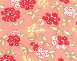 Hello Darling - Floral Picnic Pink Coral by Bonnie & Camille from Moda