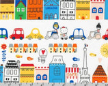 Oui Oui Paris - Bright Vehicles Town by Suzy Ultman from Robert Kaufman