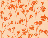 Landscape - Kangaroo Paw Orange by Ink & Spindle from Cloud 9 Fabrics