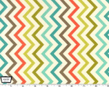 Jug or Not - Mini Chic Chevron - Retro  from Michael Miller