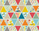 Frolic - Triangles by Rebekah Ginda from Birch Organic Fabric
