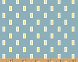 Oh Clementine - Teal Boxes by Allison Harris from Windham Fabrics