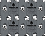 Star Wars 7 The Force Awakens - Stormtroopers Stone Grey from Camelot Cottons