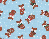 Jingle All The Way - Sky Fox from Timeless Treasures