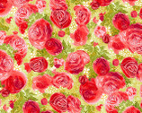 Blissful Moments - Red Roses from P & B Textiles