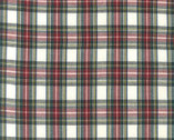 House of Whales Plaids - Ivory Plaid from Robert Kaufman