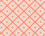 Metro Living - Orange Diamonds from Robert Kaufman