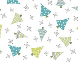 Arctic Antics FLANNEL - Tree Toss Flannel Fabric by Debbie Mumm from Wilmington Prints