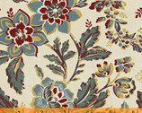 Sophie - Cream Large Floral Mary Koval from Windham Fabrics