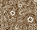 Bohemian Bold - Brown Paisley from Henry Glass