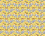 Safari Park - Rainbow Splash Elephants Yellow from Lewis and Irene