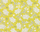 Garden Project - Yellow Floral by Tim and Beck from Moda