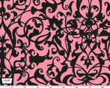 Trellis Grate - Pink from Michael Miller