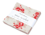 Miss Scarlet by Polly Minick & Laurie Simpson - Charm Pack from Moda
