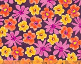 Mariposa - Mini Floral Purple by Another Point of View from Windham Fabrics