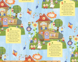 Mother Goose Tales - Old Lady in the Shoe by Jill McDonald from Windham Fabrics