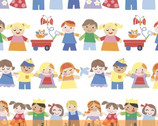 Mother Goose Tales - Kiddies Galore by Jill McDonald from Windham Fabrics