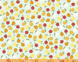 Oh Clementine - Apples Aqua by Allison Harris from Windham Fabrics