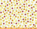 Oh Clementine - Apples White by Allison Harris from Windham Fabrics