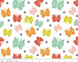 Designer Double Gauze - Flutter Multi by Patty Young from Riley Blake