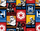 Star Wars - FLEECE Fabric - Villains - 58 inches Wide from Camelot Fabrics