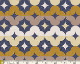 Athena - Aurora Medallions Bronze by Angela Walters from Art Gallery Fabrics