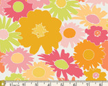 Dreamin' Vintage - Lazy Daisy Raspberry by Jeni Baker from Art Gallery Fabrics