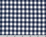 "Carolina Gingham 1/4"" - Navy Blue from Robert Kaufman"
