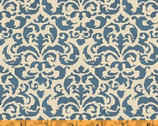 Country Kitchen - Blue Brocade Megan Duncanson from Windham Fabrics