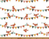 Party Animals - Singing Birds ORGANIC by Petit Collage from Windham Fabrics