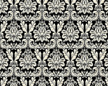 Joyeux Noel - Black Damask from Studio E